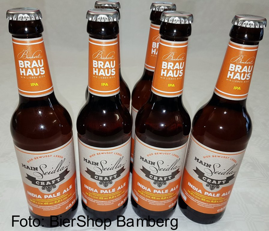 6 Flaschen Binkert Brauhaus Craftbeer Indian Pale Ale